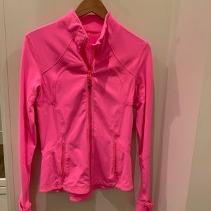 Lululemon Hot Pink Forme Jacket Size 8